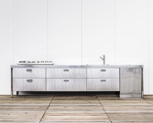 Alpes Inox Küchenelemente Spülen, Kochen, Aufbewahren