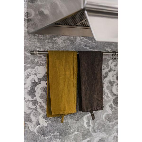 Edelstahlküche kombiniert 190 cm breit